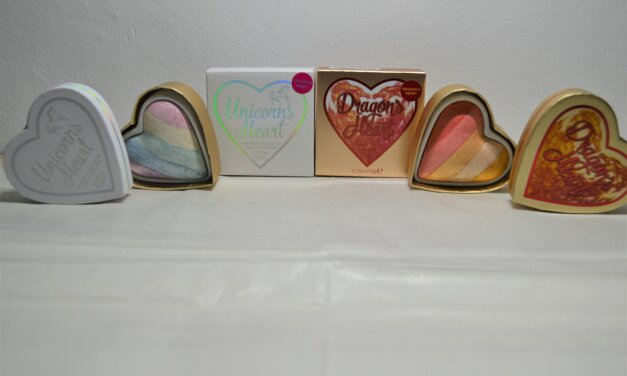 Revolution Unicorns Heart und Dragon´s Heart Highlighter