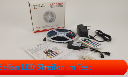 Dreamcolor LED Striefen SELIAN 10m LED Band + RF Music