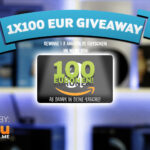 100 EUR Gewinnspiel – powered by rev-you.me
